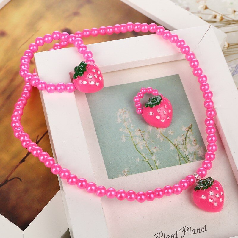 Girls' Cute Jewelry Set