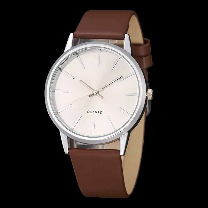 Men's Solid Casual Quartz Watch